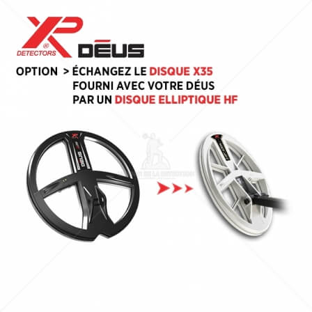 Option disque Elliptique HF 24x13 cm