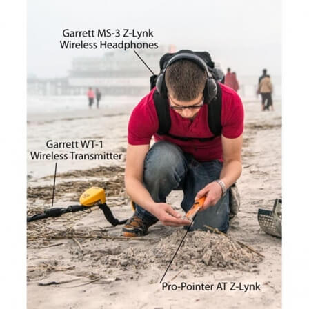 Kit GARRETT Z-Lynk AT Pro-pointer Casque sans fil MS-3