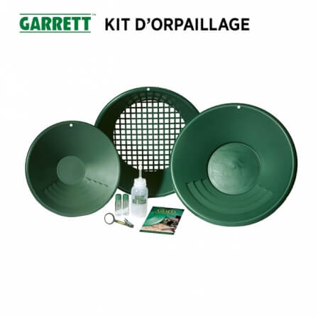 Kit d'orpaillage GARRETT