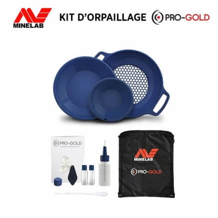 Kit d'orpaillage MINELAB -...