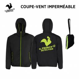 Coupe vent imperméable FRENCH DETECTION