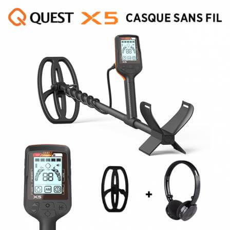 Quest X5 Casque sans fil