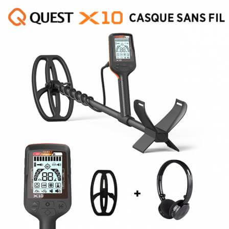 QUEST X10 Casque sans fil
