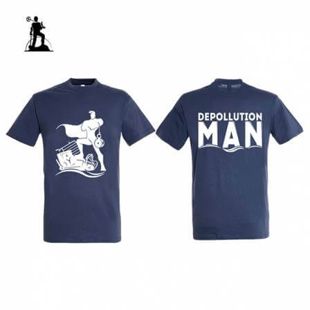 T-shirt Depollution Man -...